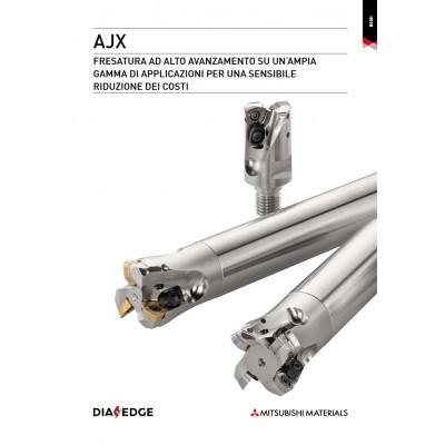 AJX - Riduzione dei costi con fresatura ad elevatissimo avanzamento su un'ampia gamma di applicazioni