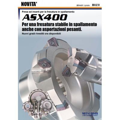 ASX400 - Per una fresatura stabile in spallamento anche con asportazioni pesanti