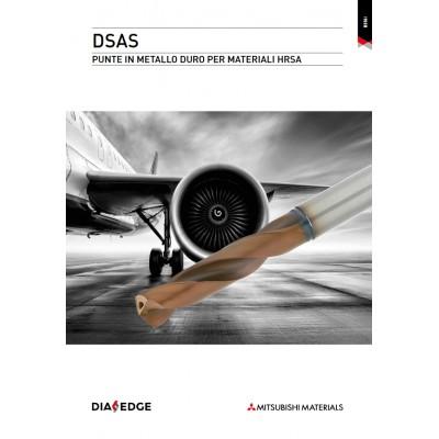 DSAS - Punte in metallo duro per materiali HRSA