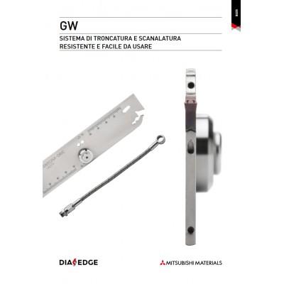 GW - Nuovo sistema di troncatura e scanalatura in grado di massimizzare la facilità di impiego mantenendo al tempo stesso inalterate le prestazioni