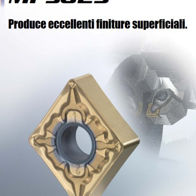 Grado Cermet con rivestimento PVD per acciaio