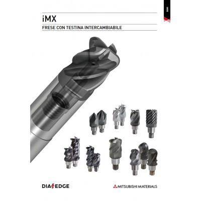 IMX - Sistema a fresa a candela con testa intercambiabile