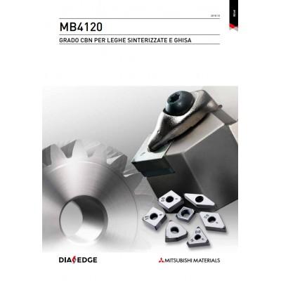 MB4120 / MB4020 - Grado CBN per leghe sinterizzate e ghisa