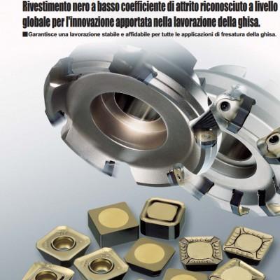 MC5020 - Inserti ISO per la fresatura della ghisa