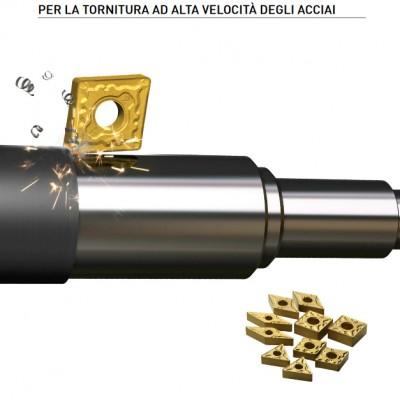 MC6115 - Grado rivestito CVD per massime prestazioni nella tornitura ad alta velocità