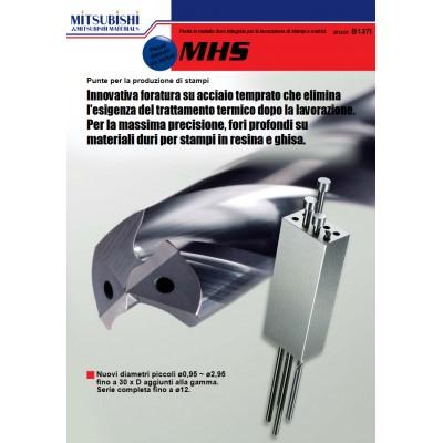 MHS - Punta per la foratura di acciaio temprato
