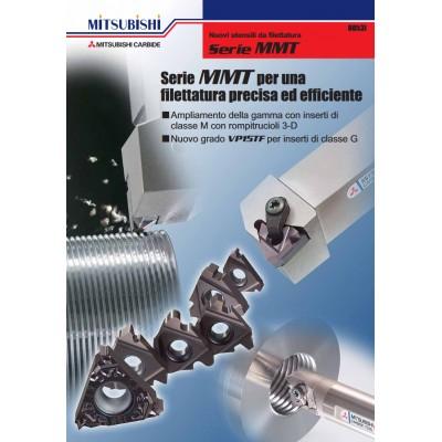 MMT - Heavy duty - Specificamente concepita per la lavorazione pesante dell'acciaio inossidabile e dell'acciaio legato