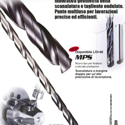 MPS / MSL - Punte multiuso per la foratura ad alta profondità
