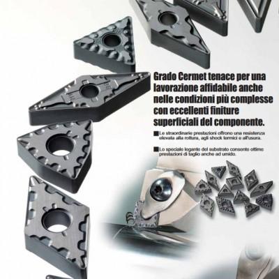 NX3035 - Grado Cermet con rivestimento PVD per acciaio
