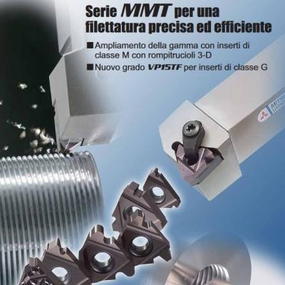 Nuovi utensili da filettatura - Serie MMT