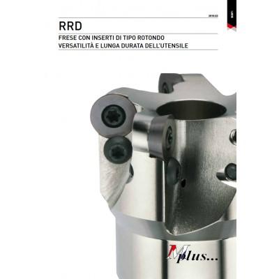 RRD - Fresa a inserto rotondo per la lavorazione di stampi