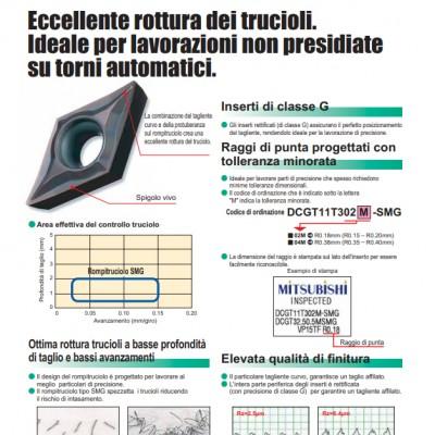Rompitruciolo SMG - Rompitruciolo stampato per piccoli utensili