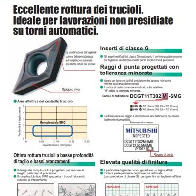 Rompitruciolo stampato per piccoli utensili
