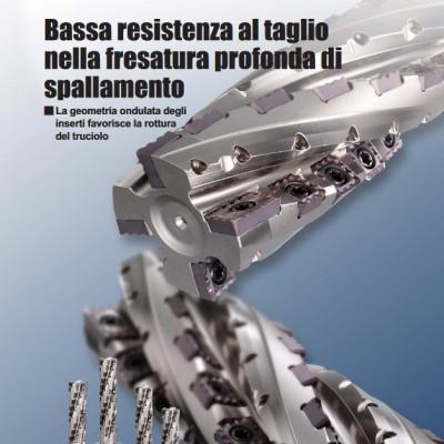 SPX - assa resistenza al taglio nella fresatura profonda di spallamento