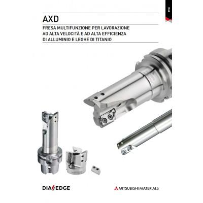 Serie AXD - Tagliente ad alte prestazioni per leghe di alluminio