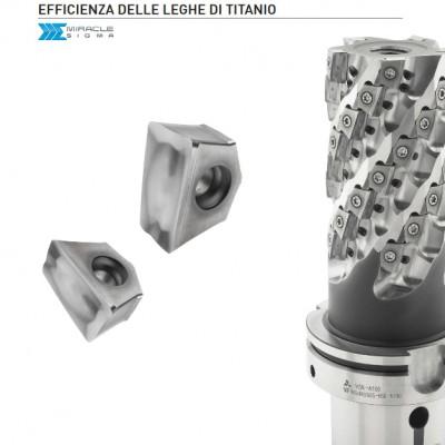 VFX5/6 - Fresa con lavorazione ad alta efficienza del titanio