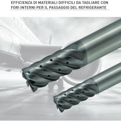 VQ Coolstar - Ideale per la lavorazione efficiente di titanio e acciaio inossidabile utilizzati per i componenti del settore aerospace