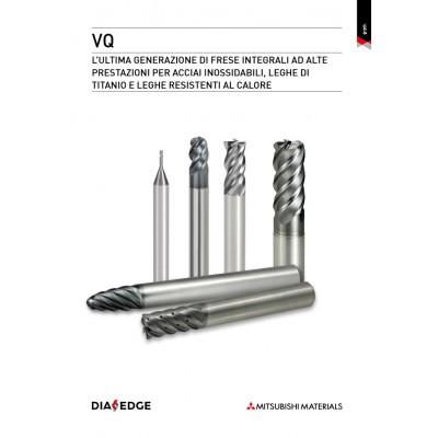 Serie per fresatura VQ - Sistema integrale per frese a candela con prestazioni superiori