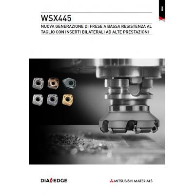 WSX445 - Fresa frontale a bassa resistenza al taglio